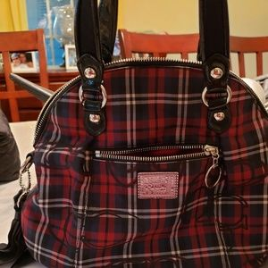 Lovely Authentic Plaid Handbag!